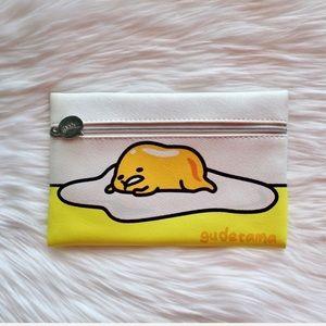 NWOT Ipsy Cosmetics Bag Yellow Gudetama